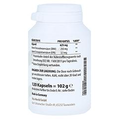 ALGENÖL 625 mg Omega-3 vegan Kapseln 120 Stück - Linke Seite