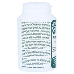 GINKGO 60 mg Extrakt Kapseln 120 Stück - Rechte Seite