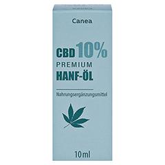 CBD CANEA 10% Premium Hanf-Öl 10 Milliliter - Vorderseite