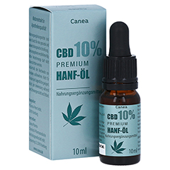 CBD CANEA 10% Premium Hanf-Öl 10 Milliliter