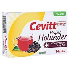 CEVITT immun heißer Holunder classic Granulat 14 Stück