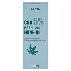 CBD CANEA 5% Premium Hanf-Öl 10 Milliliter - Vorderseite