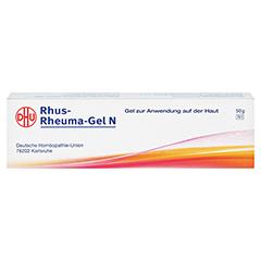 RHUS RHEUMA Gel N 50 Gramm N1 - Rückseite