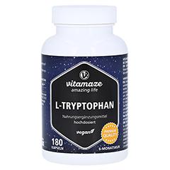 L-TRYPTOPHAN 500 mg hochdosiert vegan Kapseln 180 Stück