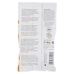 LAVERA Meeres-Badesalz Bio-Orange+Bio-Sanddorn 80 Gramm - Rückseite