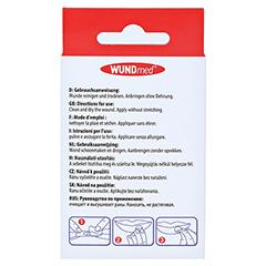 HERPES PATCH hydrokolloid 6 Stück - Rückseite