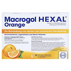 MACROGOL HEXAL Orange Plv.z.Her.e.Lsg.z.Einn.Btl. 10 Stück - Rückseite