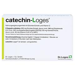 CATECHIN-Loges Kapseln 120 Stück - Rückseite