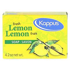 KAPPUS frische Zitrone Seife 125 Gramm - Rückseite