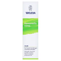 HAMAMELIS COMP.Salbe 70 Gramm N2 - Rückseite