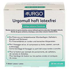 URGOMULL haft latexfrei 8 cmx20 m 1 Stück - Rückseite