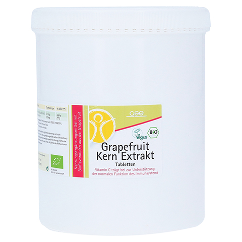 GRAPEFRUIT KERN Extrakt Bio Tabletten 2000 Stück