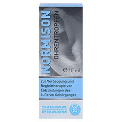 NORMISON Ohrentropfen 10 Milliliter - Vorderseite