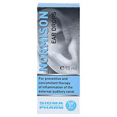 NORMISON Ohrentropfen 10 Milliliter - Rückseite