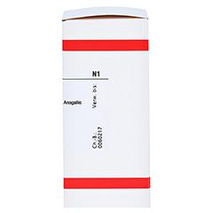 ANAGALLIS ARVENSIS D 12 Tabletten 80 Stück N1 - Rechte Seite