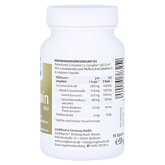 Curcumin-Triplex3 500 mg/Kapsel 95% Curcumi + Bio Perin 90 Stück - Linke Seite