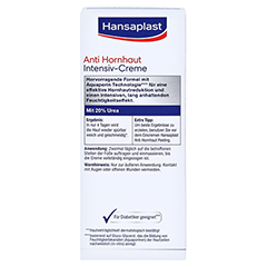 Hansaplast Foot Expert Anti-Hornhaut Creme 75 Milliliter - Rückseite