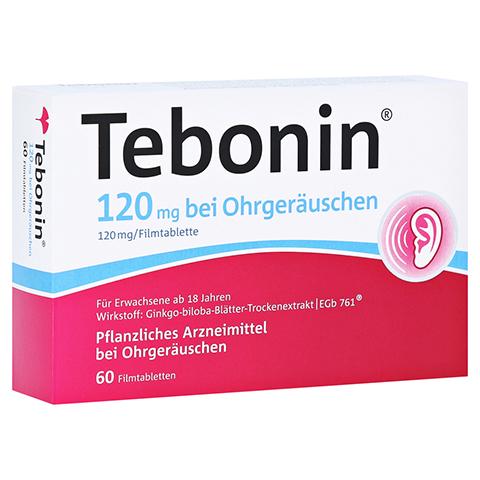 TEBONIN 120 mg bei Ohrgeräuschen Filmtabletten 60 Stück N2
