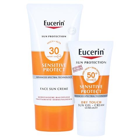 EUCERIN Sun Creme LSF 30 + gratis Eucerin Sun Oil Control Body LSF50+ 50 Milliliter