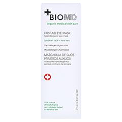 Biomed Erste Hilfe Hypoallergene Augenmaske 15 Milliliter - Rückseite