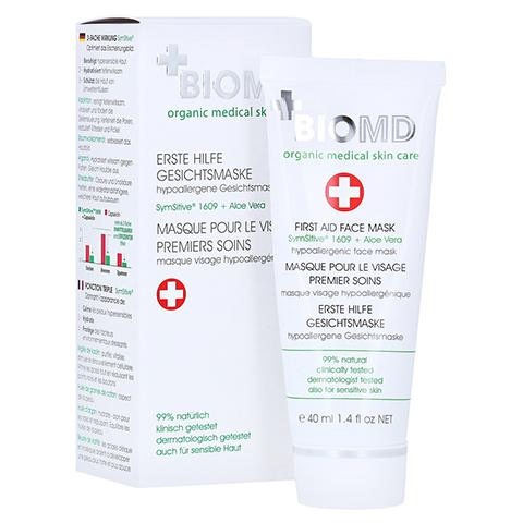 Biomed Erste Hilfe Hypoallergene Gesichtsmaske 40 Milliliter