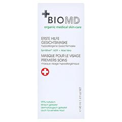 Biomed Erste Hilfe Hypoallergene Gesichtsmaske 40 Milliliter - Vorderseite