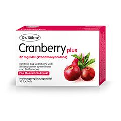 DR.BÖHM Cranberry plus Granulat 10 Stück
