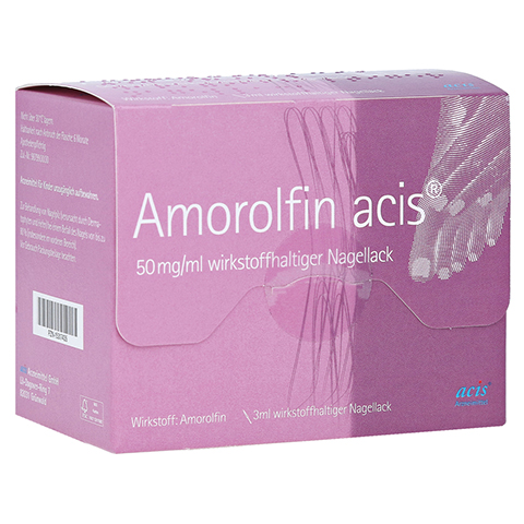 Amorolfin acis 50mg/ml 3 Milliliter N1