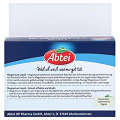 ABTEI Magnesium Liquid NF 8x30 Milliliter - Rückseite