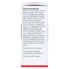 CARDIODORON/AURUM comp.Dilution 2x50 Milliliter N2 - Linke Seite