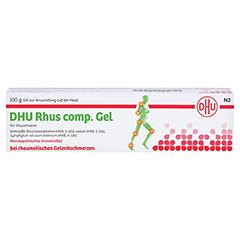 RHUS COMP.Gel DHU 100 Gramm N2 - Rückseite