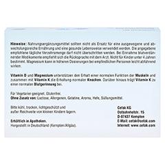 CEFAVIT D3 K2 Mg 7.000 I.E. Hartkapseln 100 Stück - Oberseite
