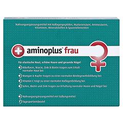 AMINOPLUS frau Pulver 7 Stück - Vorderseite