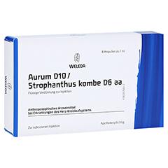 AURUM D 10/Strophanthus kombe D 6 aa Ampullen 8x1 Milliliter N1
