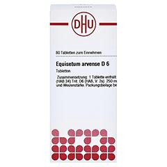 EQUISETUM ARVENSE D 6 Tabletten 80 Stück N1 - Vorderseite