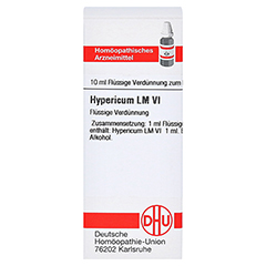 HYPERICUM LM VI Dilution 10 Milliliter N1 - Vorderseite
