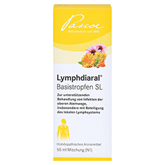 LYMPHDIARAL BASISTROPFEN SL 50 Milliliter N1 - Vorderseite