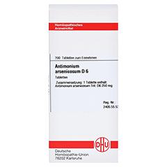 ANTIMONIUM ARSENICOSUM D 6 Tabletten 200 Stück N2 - Vorderseite