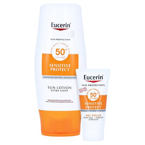 Eucerin Sun Lotion Extra Leicht LSF 50 + gratis Eucerin Sun Oil Control Body LSF50+ 150 Milliliter