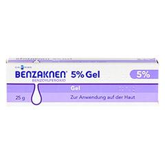 Benzaknen 5% 25 Gramm N1 - Vorderseite