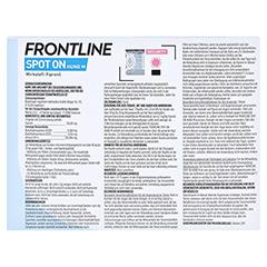 FRONTLINE Spot on H 20 L�sung f.Hunde 6 St�ck - R�ckseite
