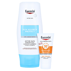 Eucerin Sun Allergy Protect After Sun Creme-Gel + gratis Eucerin Sun Oil Control Body LSF50+ 150 Milliliter