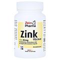 ZINK CHELAT 25 mg in magensaftresist.veg.Kaps. 120 Stück