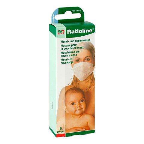 Ratioline bambino Mund- und Nasenmaske 6 Stück