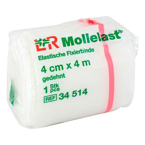 MOLLELAST Binden 4 cmx4 m weiß 1 Stück