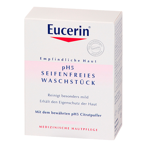 EUCERIN pH5 seifenfreies Waschstück 100 Gramm