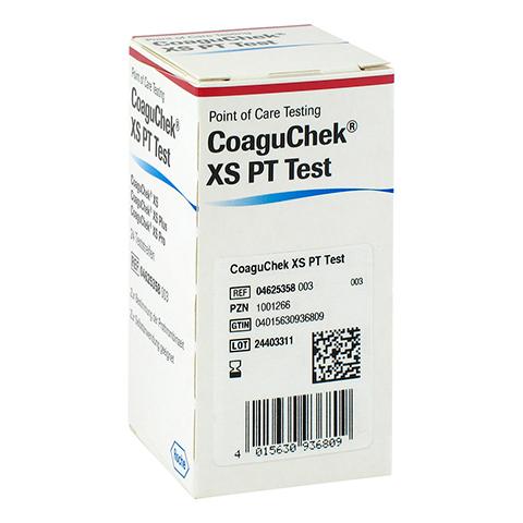 COAGUCHEK XS PT Test 24 Stück