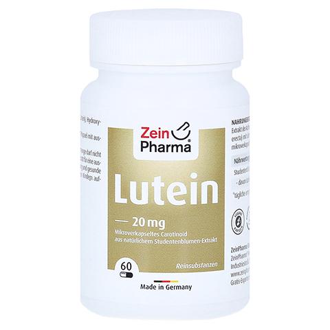 LUTEIN 20 mg Kapseln mikroverkapselt 60 Stück