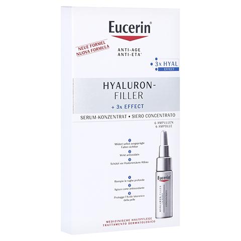 EUCERIN Anti-Age Hyaluron-Filler Serum Konzentrat 6x5 Milliliter