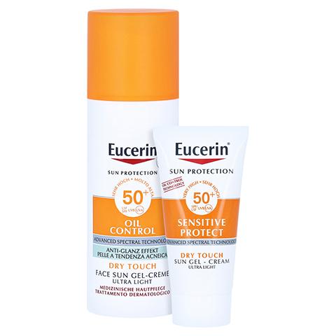 Eucerin Sun Gel-Creme Oil Control LSF 50+ + gratis Eucerin Sun Oil Control Body LSF50+ 50 Milliliter